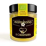 Manukana Bio Manuka Honig Blend MGO 50+ (250g) | Weltweit beste Qualität | Ethische Imkerei | Echte Gläser