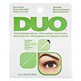 ARDELL DUO Brush Adhesive mit Vitamin A, C und E | Wimpernkleber durchsichtig | extra starker Lash Glue für Ihre Wimpernverlängerung | das Original | wasserfest (5g)