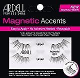 Ardell Magnetic Series, magnetische Wimpern aus Echthaar, das Original, langlebig und wiederverwendbar Lashes anbringen ohne Klebstoff (Accents 001)