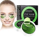 Eye Mask, Augenpads anti aging, Augen Patches, Eye Patches, Collagen Augenringe Augenpads, Augenpflege mit Hyaluron, Feuchtigkeit Spendende, Entfernen Taschen, Dunkle Kreise & Puffiness, 60pcs