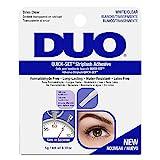 ARDELL DUO Quickset Adhesive Clear, Wimpernkleber für künstliche Wimpern, das Original für perfekte Lashes (durchsichtig), 5g (1x)
