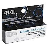 ARDELL Lashtite Clear Adhesive, transparenter und permanenter Wimpernkleber für Individuals, Einzelwimpern, 3,5g