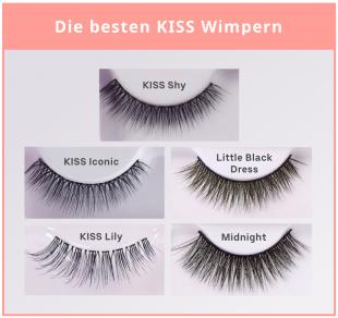 Die 5 besten Kiss-Wimpern sind sowohl für den Alltag als auch für die nächste Party geeignet.