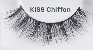 Die Kiss Wimpern Couture Naked Drama Chiffon haben ein außergewöhnliches Design.