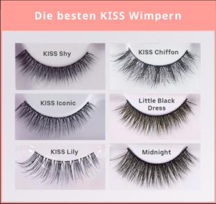Die 6 besten Kiss Wimpern sind sowohl für den Alltag als auch für die nächste Party geeignet.