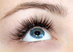 Wimpernverlängerung Mascara Look