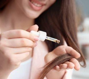 Rizinusöl für Haare