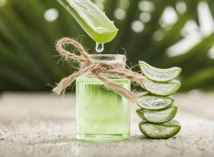 Um längere Wimpern zu bekommen, kannst Du auch Aloe vera oder grünen Tee nutzen.