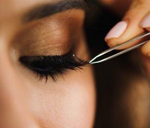 Wimpernverlängerung selber machen